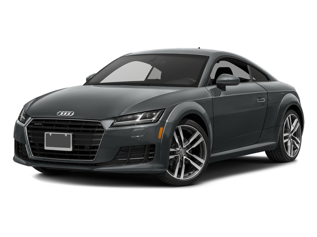 Nano Gray Metallic 2017 Audi TT Coupe Pictures TT Coupe 2D AWD photos front view