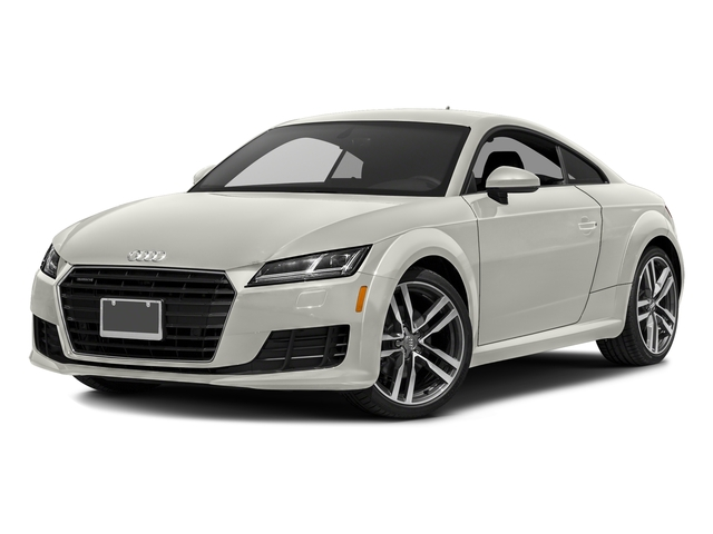 Ibis White 2017 Audi TT Coupe Pictures TT Coupe 2D AWD photos front view