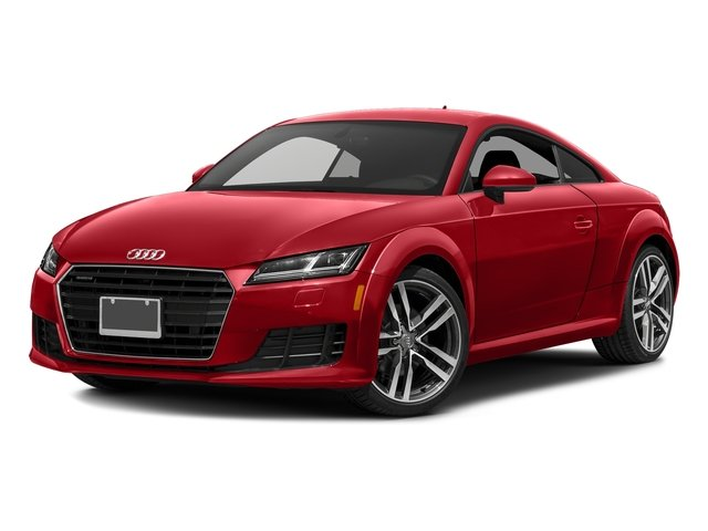 Tango Red Metallic 2017 Audi TT Coupe Pictures TT Coupe 2D AWD photos front view