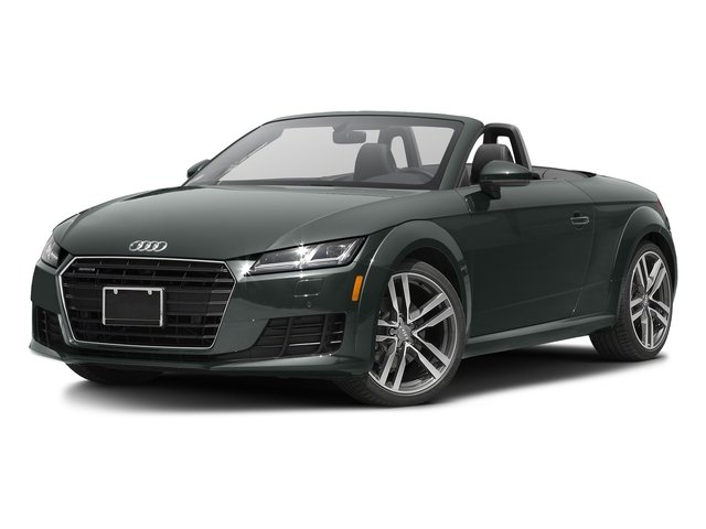 Monsoon Gray Metallic/Black Roof 2017 Audi TT Roadster Pictures TT Roadster 2.0 TFSI photos front view