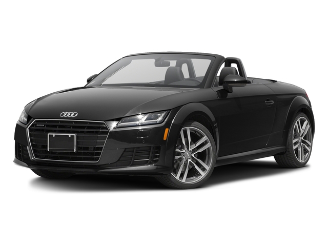 Brilliant Black/Black Roof 2017 Audi TT Roadster Pictures TT Roadster 2.0 TFSI photos front view