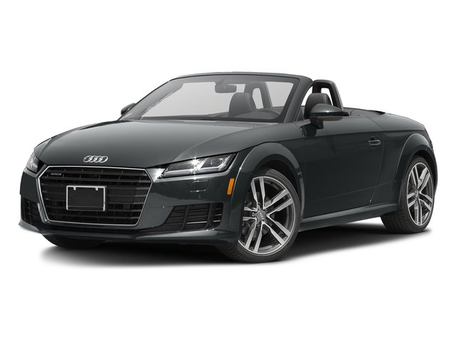 Nano Gray Metallic/Black Roof 2017 Audi TT Roadster Pictures TT Roadster 2.0 TFSI photos front view