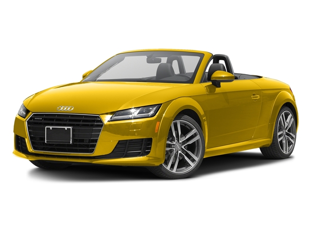 Vegas Yellow/Black Roof 2017 Audi TT Roadster Pictures TT Roadster 2.0 TFSI photos front view