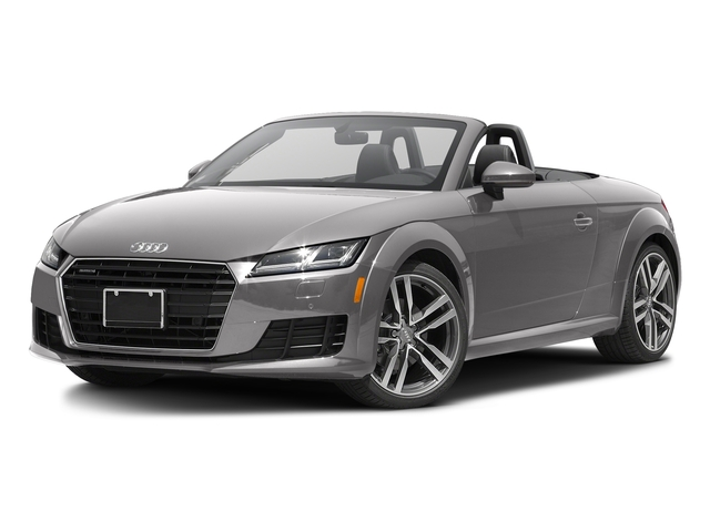 Florett Silver Metallic/Black Roof 2017 Audi TT Roadster Pictures TT Roadster 2.0 TFSI photos front view