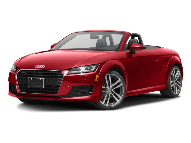 Tango Red Metallic/Black Roof 2017 Audi TT Roadster Pictures TT Roadster 2.0 TFSI photos front view