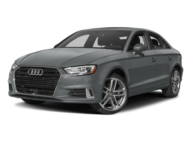 Monsoon Gray Metallic 2017 Audi A3 Sedan Pictures A3 Sedan 2.0 TFSI Prestige quattro AWD photos front view
