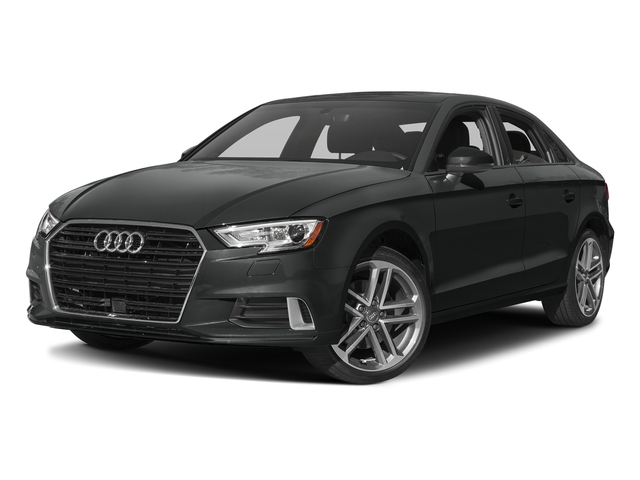 Mythos Black Metallic 2017 Audi A3 Sedan Pictures A3 Sedan 2.0 TFSI Prestige quattro AWD photos front view
