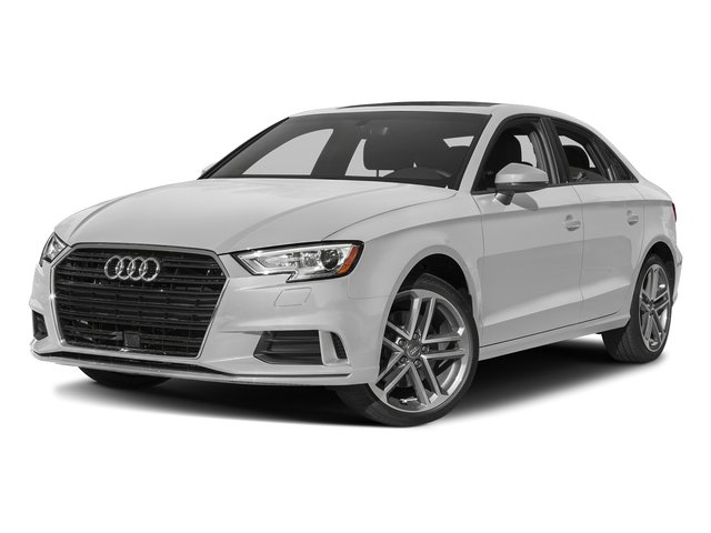 Glacier White Metallic 2017 Audi A3 Sedan Pictures A3 Sedan 2.0 TFSI Prestige quattro AWD photos front view