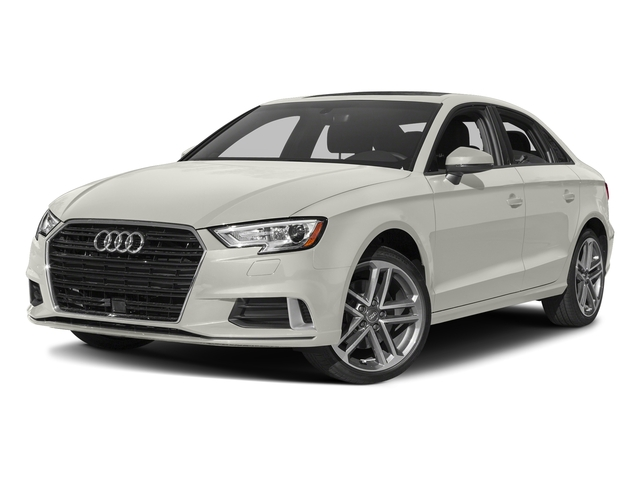 Ibis White 2017 Audi A3 Sedan Pictures A3 Sedan 2.0 TFSI Prestige quattro AWD photos front view