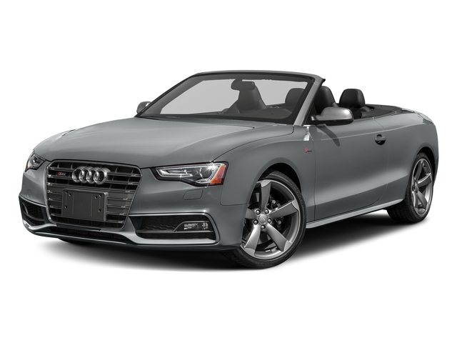 Monsoon Gray Metallic/Black Roof 2017 Audi S5 Cabriolet Pictures S5 Cabriolet Convertible 2D S5 Premium Plus AWD photos front view