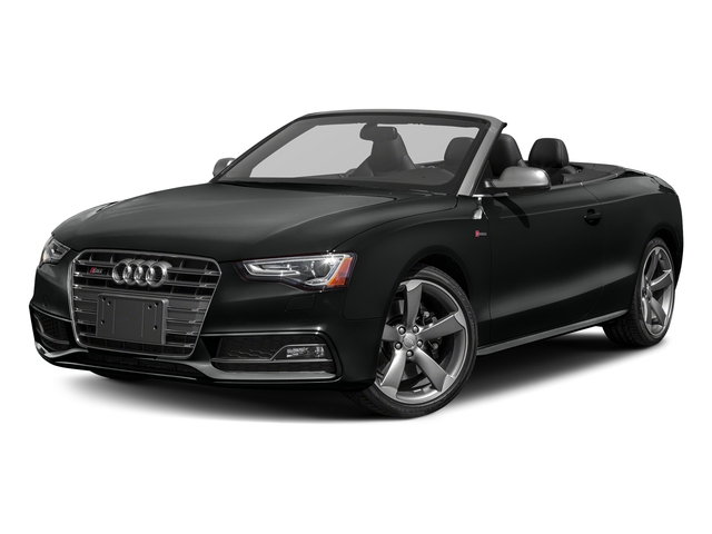 Mythos Black Metallic/Black Roof 2017 Audi S5 Cabriolet Pictures S5 Cabriolet Convertible 2D S5 Premium Plus AWD photos front view