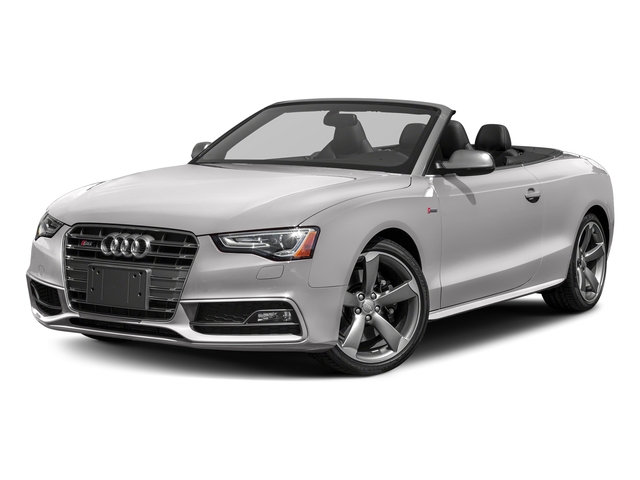 Florett Silver Metallic/Black Roof 2017 Audi S5 Cabriolet Pictures S5 Cabriolet Convertible 2D S5 Premium Plus AWD photos front view