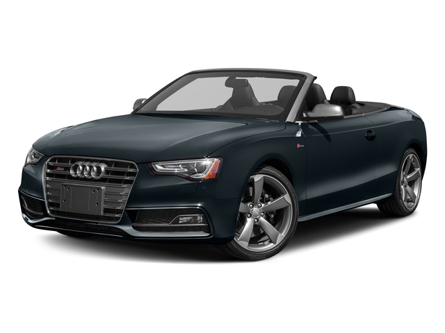 Moonlight Blue Metallic/Black Roof 2017 Audi S5 Cabriolet Pictures S5 Cabriolet Convertible 2D S5 Premium Plus AWD photos front view
