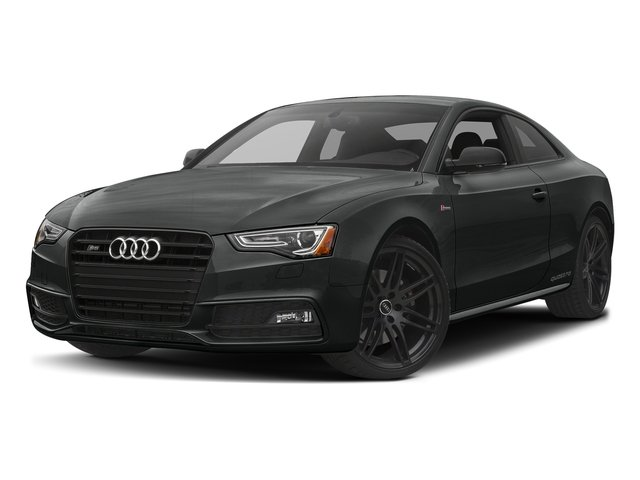 Mythos Black Metallic 2017 Audi S5 Coupe Pictures S5 Coupe 3.0 TFSI S Tronic photos front view