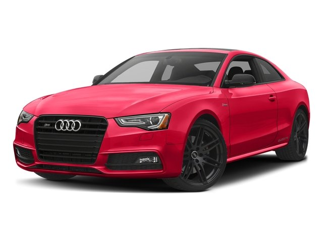 Misano Red Pearl Effect 2017 Audi S5 Coupe Pictures S5 Coupe 3.0 TFSI S Tronic photos front view
