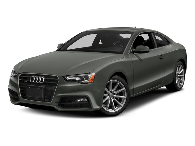 Daytona Gray Pearl Effect 2017 Audi A5 Coupe Pictures A5 Coupe 2.0 TFSI Sport Tiptronic photos front view