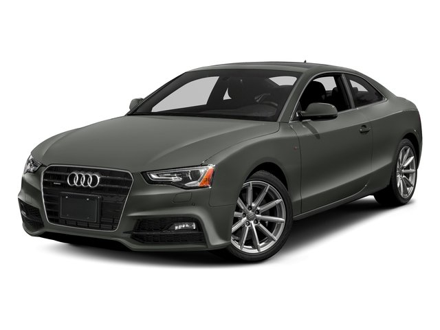 Daytona Gray Pearl Effect 2017 Audi A5 Coupe Pictures A5 Coupe 2.0 TFSI Sport Manual photos front view