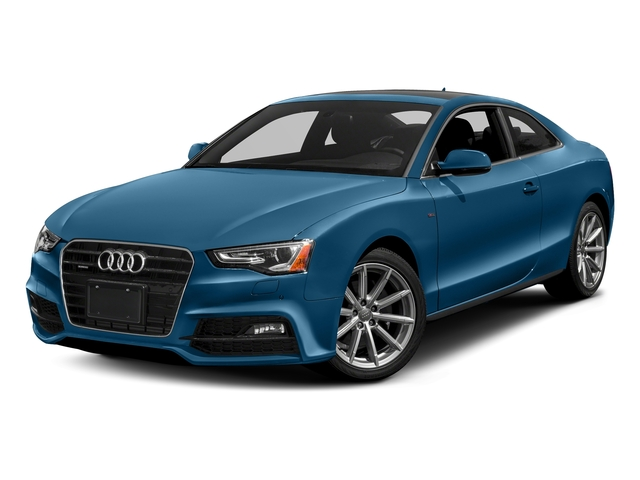Sepang Blue Pearl Effect 2017 Audi A5 Coupe Pictures A5 Coupe 2.0 TFSI Sport Manual photos front view