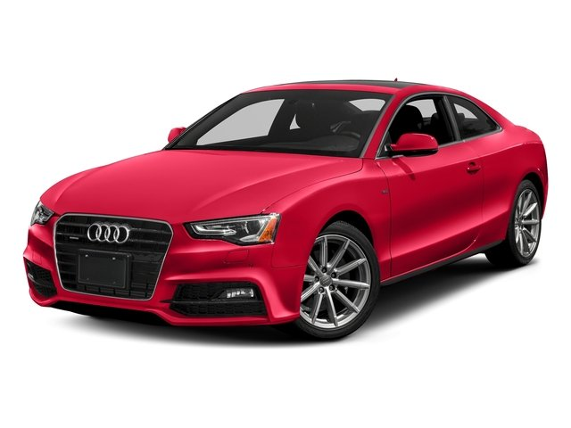 Misano Red Pearl Effect 2017 Audi A5 Coupe Pictures A5 Coupe 2.0 TFSI Sport Tiptronic photos front view