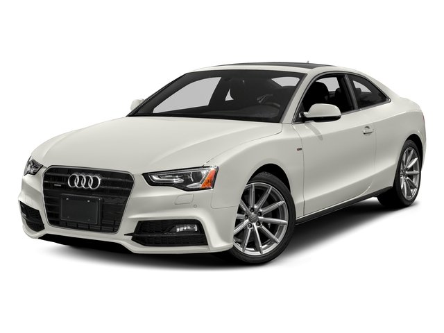 Ibis White 2017 Audi A5 Coupe Pictures A5 Coupe 2.0 TFSI Sport Manual photos front view