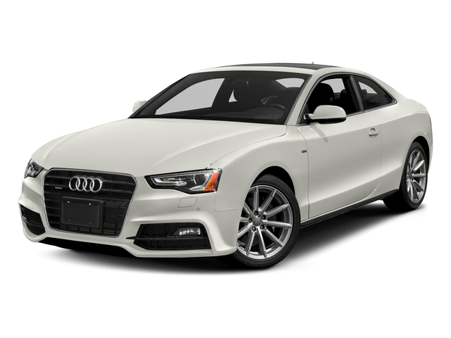Ibis White 2017 Audi A5 Coupe Pictures A5 Coupe 2.0 TFSI Sport Tiptronic photos front view