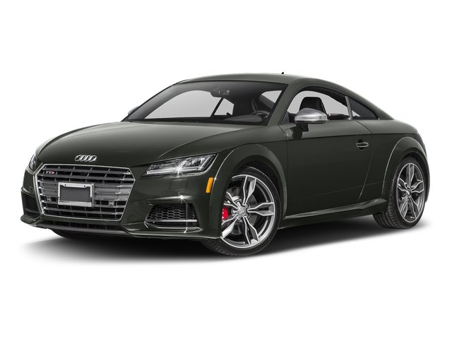 Daytona Gray Pearl Effect 2017 Audi TTS Pictures TTS Coupe 2D AWD photos front view