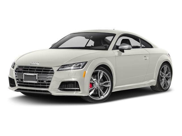 Ibis White 2017 Audi TTS Pictures TTS Coupe 2D AWD photos front view