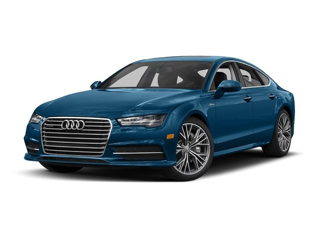 Sepang Blue Pearl Effect 2017 Audi A7 Pictures A7 3.0 TFSI Competition Prestige photos front view