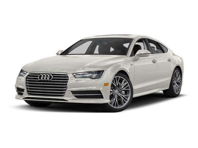 Ibis White 2017 Audi A7 Pictures A7 3.0 TFSI Competition Prestige photos front view