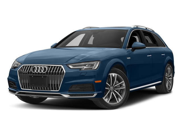 Scuba Blue Metallic 2017 Audi allroad Pictures allroad Wagon 4D Premium Plus AWD I4 Turbo photos front view