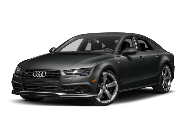 Mythos Black Metallic 2017 Audi S7 Pictures S7 Sedan 4D S7 Prestige AWD photos front view