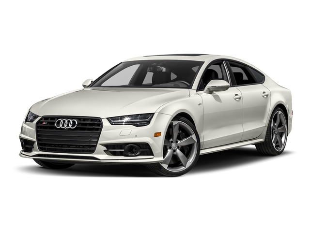 Ibis White 2017 Audi S7 Pictures S7 Sedan 4D S7 Prestige AWD photos front view