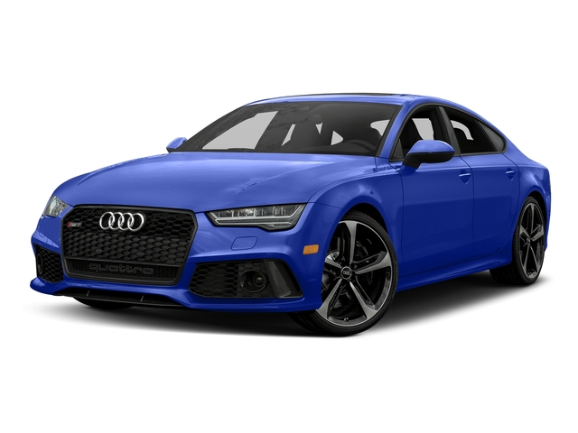 Ascari Blue Metallic 2017 Audi RS 7 Pictures RS 7 Sedan 4D RS7 Performance AWD photos front view