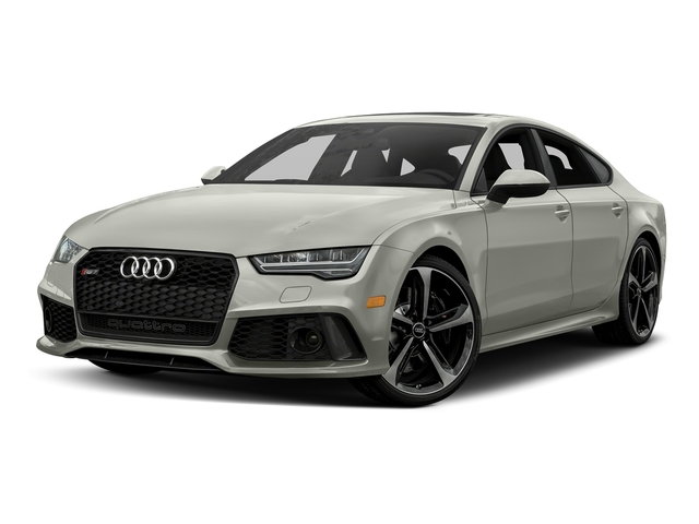 Prism Silver Crystal Effect 2017 Audi RS 7 Pictures RS 7 Sedan 4D RS7 Performance AWD photos front view