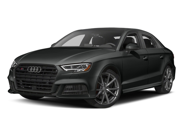 Mythos Black Metallic 2017 Audi S3 Pictures S3 Sedan 4D S3 Premium Plus AWD I4 Turb photos front view