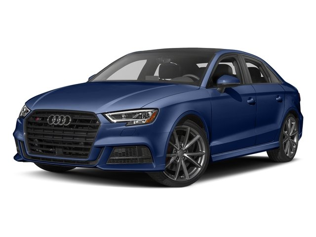 Navarra Blue Metallic 2017 Audi S3 Pictures S3 Sedan 4D S3 Premium Plus AWD I4 Turb photos front view