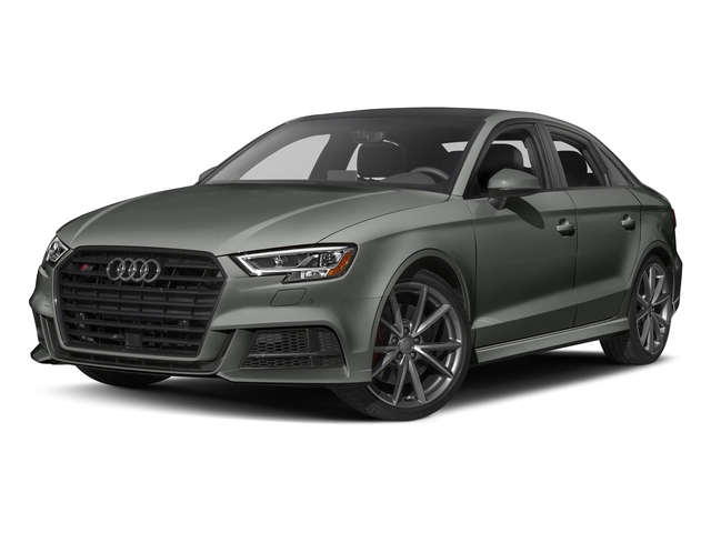 Daytona Gray Pearl Effect 2017 Audi S3 Pictures S3 Sedan 4D S3 Prestige AWD I4 Turbo photos front view