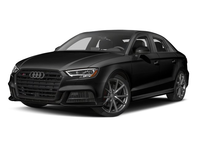 Brilliant Black 2017 Audi S3 Pictures S3 Sedan 4D S3 Prestige AWD I4 Turbo photos front view