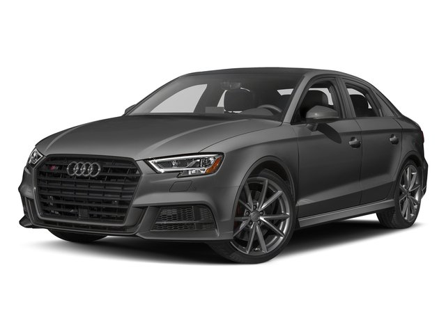Nano Gray Metallic 2017 Audi S3 Pictures S3 Sedan 4D S3 Premium Plus AWD I4 Turb photos front view