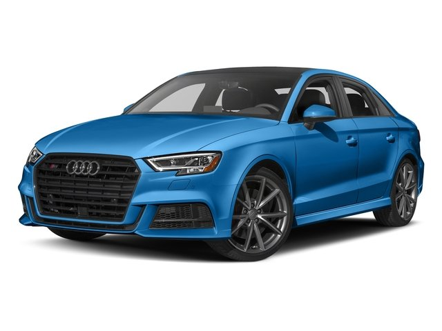 Ara Blue Crystal Effect 2017 Audi S3 Pictures S3 Sedan 4D S3 Premium Plus AWD I4 Turb photos front view