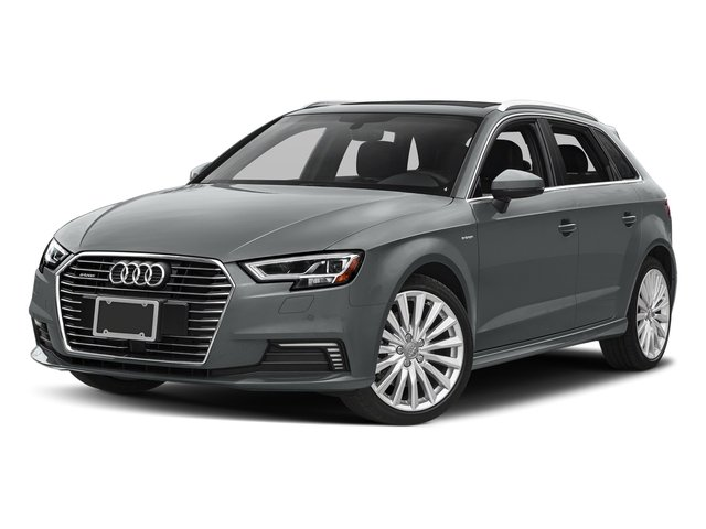 Monsoon Gray Metallic 2017 Audi A3 Sportback e-tron Pictures A3 Sportback e-tron 1.4 TFSI PHEV Prestige photos front view