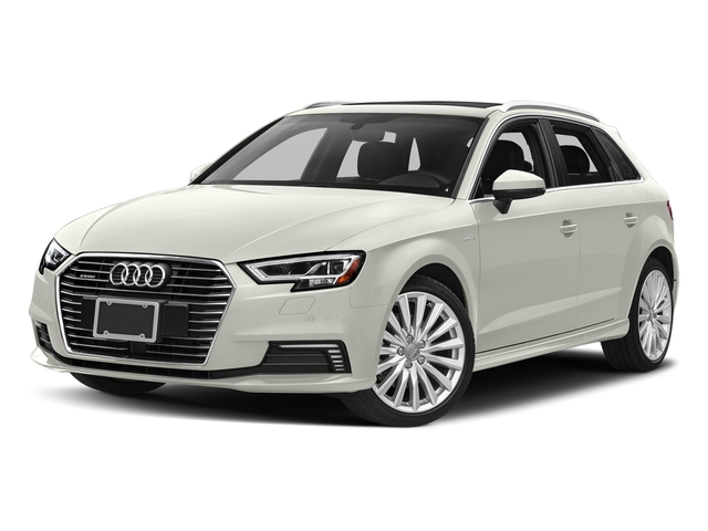 Ibis White 2017 Audi A3 Sportback e-tron Pictures A3 Sportback e-tron Hatchback 5D E-tron Premium photos front view