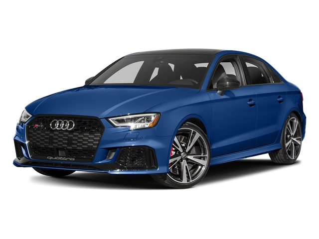 Ara Blue Crystal Effect 2017 Audi RS 3 Pictures RS 3 Sedan 4D RS3 AWD photos front view