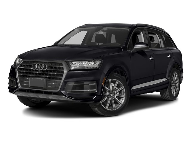 Orca Black Metallic 2017 Audi Q7 Pictures Q7 2.0 TFSI Premium photos front view
