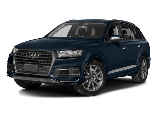Ink Blue Metallic 2017 Audi Q7 Pictures Q7 2.0 TFSI Premium photos front view