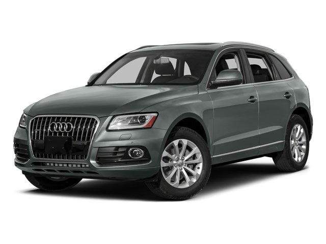 Monsoon Gray Metallic 2017 Audi Q5 Pictures Q5 Utility 4D 3.0T Premium Plus AWD photos front view