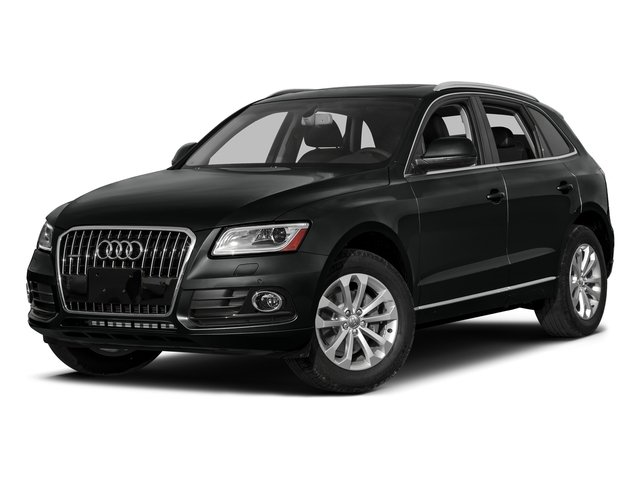 Mythos Black Metallic 2017 Audi Q5 Pictures Q5 Utility 4D 3.0T Premium Plus AWD photos front view
