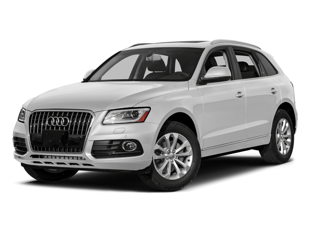 Glacier White Metallic 2017 Audi Q5 Pictures Q5 Utility 4D 3.0T Premium Plus AWD photos front view