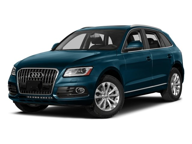 Utopia Blue Metallic 2017 Audi Q5 Pictures Q5 Utility 4D 3.0T Premium Plus AWD photos front view