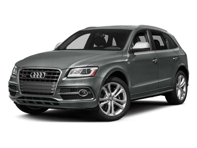 Monsoon Gray Metallic 2017 Audi SQ5 Pictures SQ5 Utility 4D Prestige AWD V6 photos front view